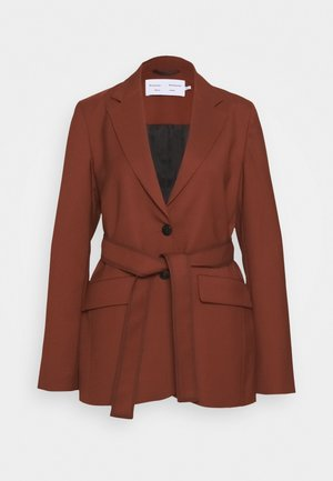 STRETCH SUITING TIE - Short coat - maple