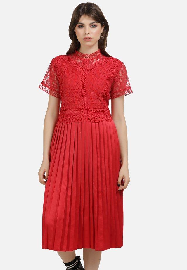 KLEID - Koktejlové šaty/ šaty na párty - rot
