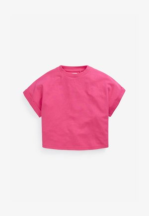BOXY SHAPED  - Basic T-shirt - pink