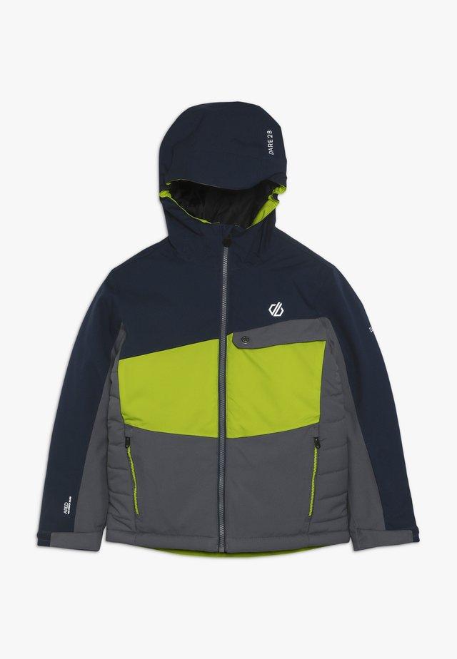 WREST JACKET - Chaqueta de esquí - ebony/algrey