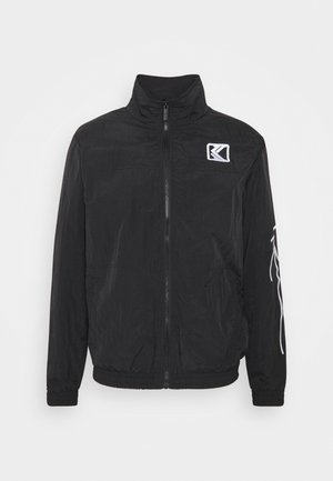SIGNATURE TRACKJACKET UNISEX - Lehká bunda - black