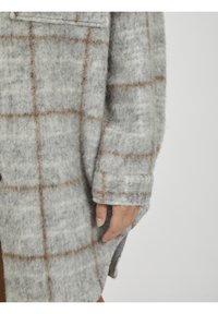 Object - OBJSOLA LONG - Short coat - light grey melange - 3