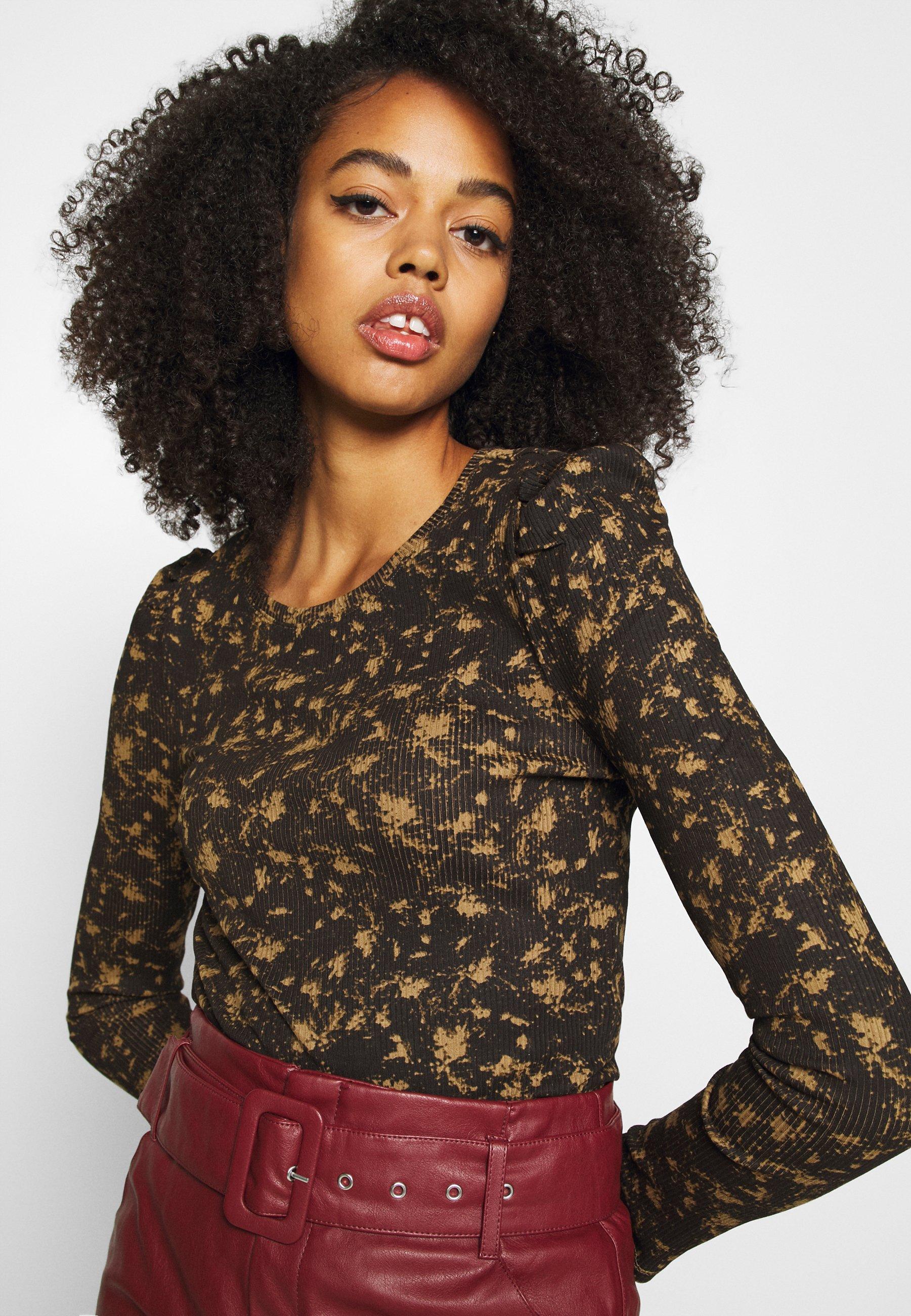Femme NMLEA PUFF - T-shirt à manches longues