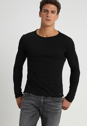 CHEESE - Langærmede T-shirts - black