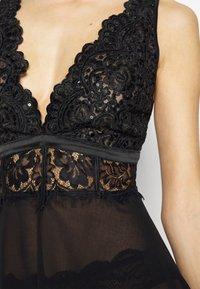 Ann Summers - FIERCLY SEXY BABYDOLL - Negligé - black - 5
