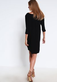 Selected Femme - SFTUNNI SMILE  - Day dress - black - 2