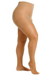 camano - FEINSTRUMPFHOSE WOMEN CURVY 20 DEN MATT, 2 PACK - Tights - make up - 2