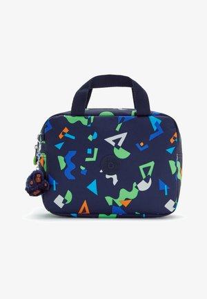 LOUNAS - Handbag - geo mix dark