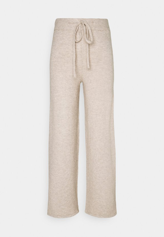 LIFE LOUNGE  PANTS - Pyjamabroek - humus melange