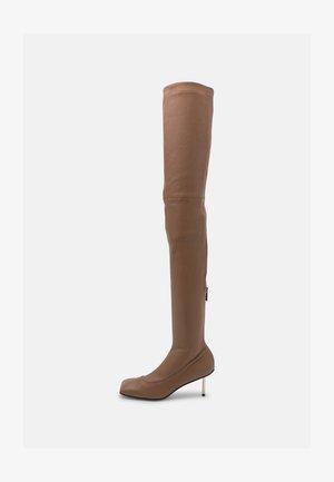 BOOTS - Overknee laarzen - brownie
