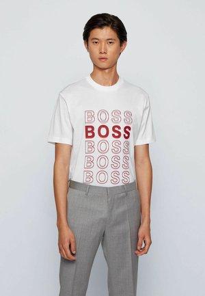 TIBURT 204 - T-shirt imprimé - white