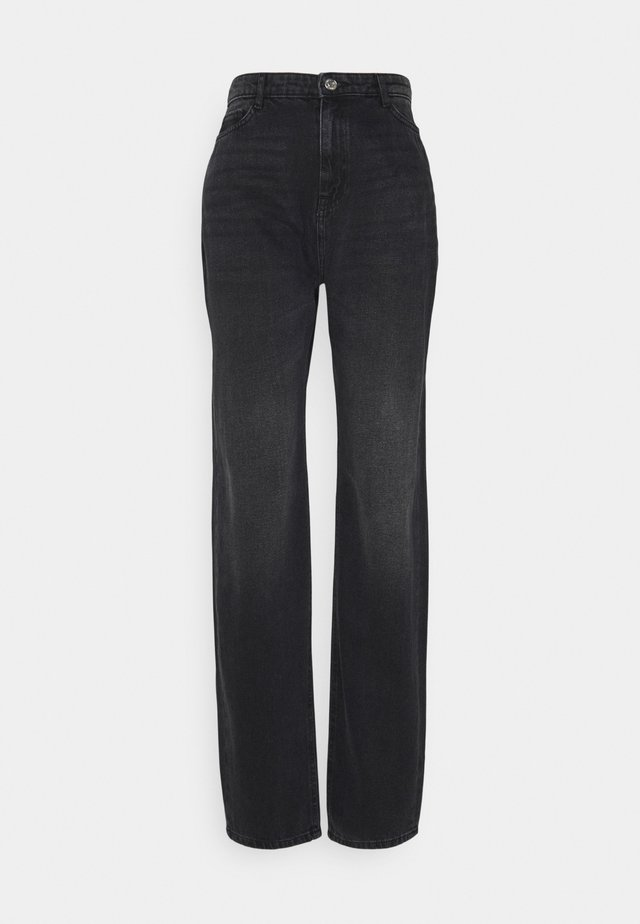 NMBROOKE DAD - Jeans a sigaretta - black