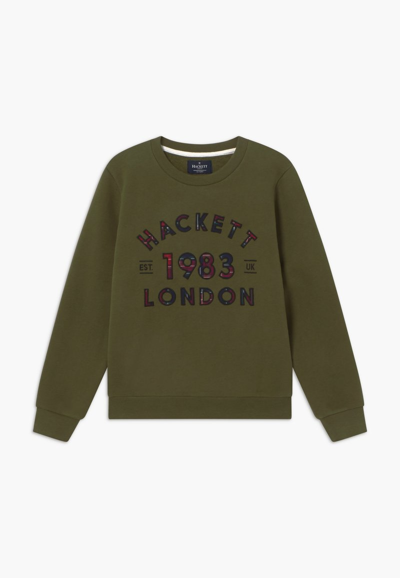 Hackett London - CREW - Sweatshirt - military green