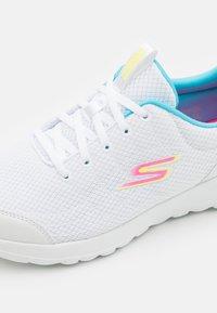 Skechers Performance - GO WALK JOY EASY BREEZE - Walking trainers - white /multicolor - 5