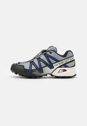 SPEEDCROSS 3 UNISEX - Sneakersy niskie - monument/black/clematis blue