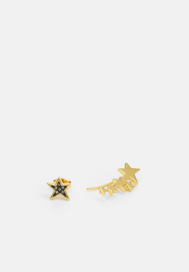 MIS-MATCH STAR CRAWLER EARRING - Halskette - gold-coloured