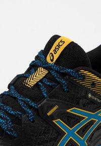 ASICS - GEL-SONOMA 5 G-TX - Zapatillas de trail running - black/directoire blue - 5