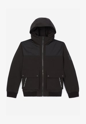 À DÉTAIL TEXTURÉ - Light jacket - black