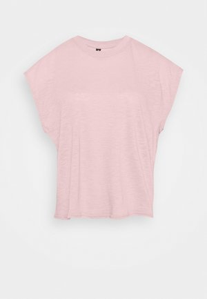 LIFESTYLE SLOUCHY MUSCLE - Basic T-shirt - almond pink