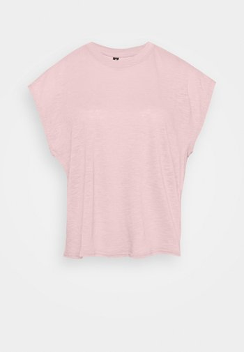 LIFESTYLE SLOUCHY MUSCLE - T-shirt basic - almond pink