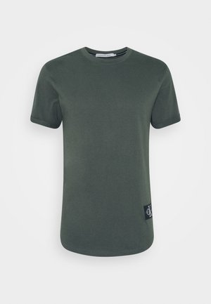 BADGE TURN UP SLEEVE - T-shirt - bas - deep depths