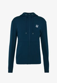 SIKSILK - AGILITY ZIP THROUGH HOODIE - Giacca sportiva - navy - 3