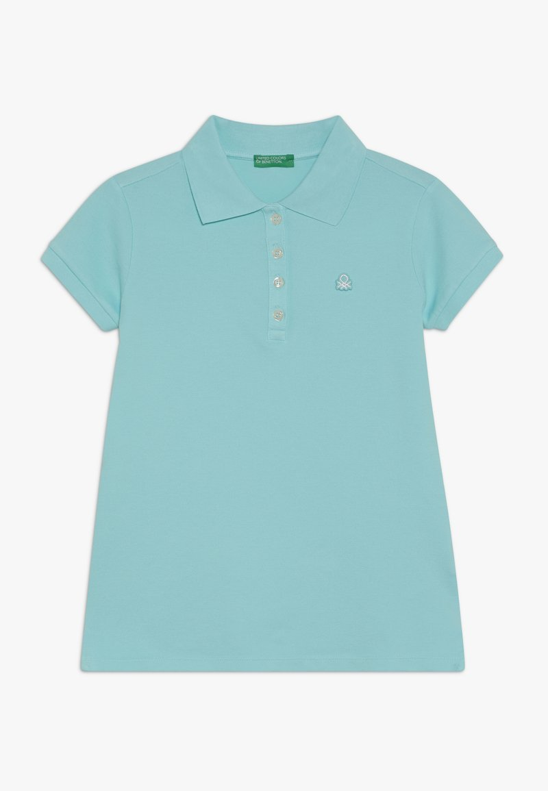 Benetton - BASIC - Polo shirt - light blue