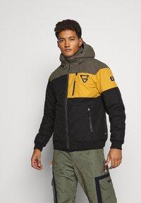 Brunotti - KENNETH MENS JACKET - Snowboard jacket - black - 0