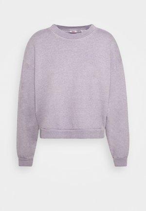 DIANA CREW - Mikina - heather lavender frost garment