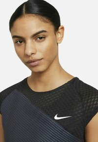 Nike Performance - COURT DRI-FIT ADV SLAM TENNISOBERTEIL - Top - black/white - 3