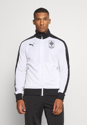 BORUSSIA MÖNCHENGLADBACH TRACK JACKET - Club wear - white/black