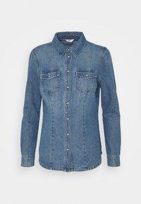 ONLY - ONLROCK IT LIFE - Košile - medium blue denim - 4