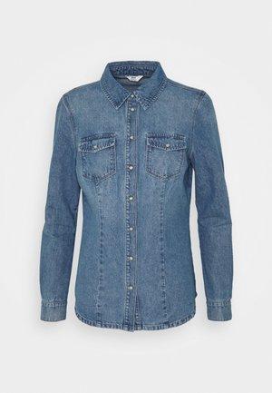 ONLROCK IT LIFE - Camisa - medium blue denim