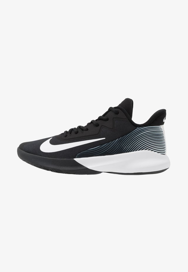 PRECISION IV - Zapatillas de baloncesto - black/white