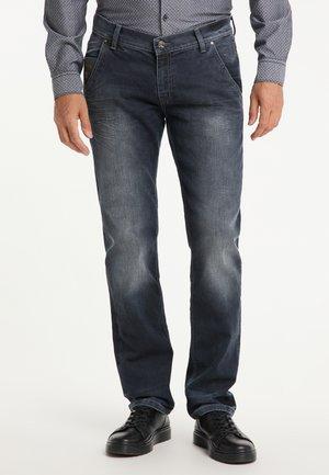 STAN - Straight leg jeans - dark used
