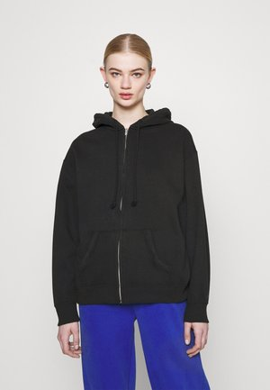 Zip-up hoodie - phantom black