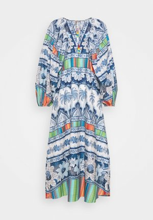 PALMS MIDI DRESS - Denní šaty - multi