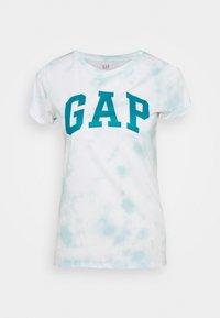 GAP - TEE - T-shirt med print - blue - 0