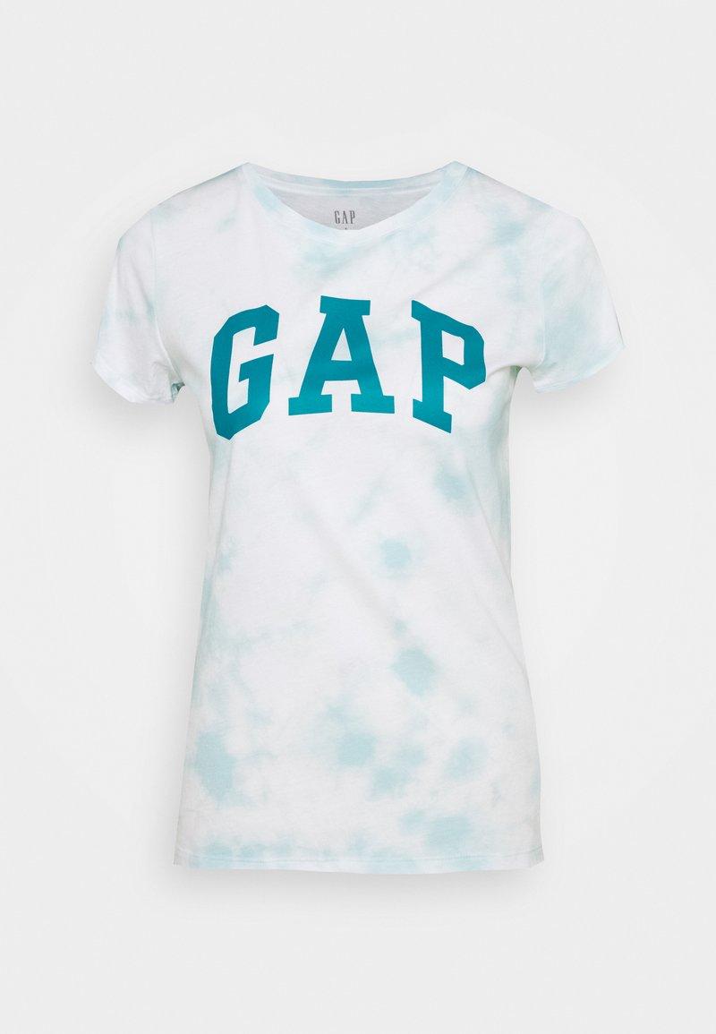 GAP - TEE - T-shirt med print - blue