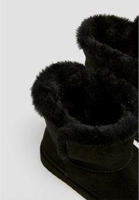PULL&BEAR - Winter boots - black - 5