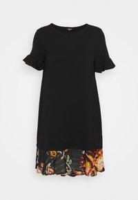KALI - Žerzejové šaty - black