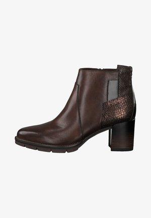 Ankle boots - mahogany comb
