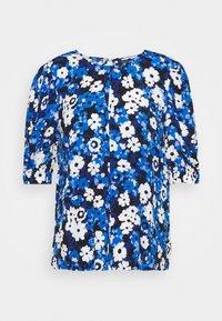 Marks & Spencer London - FLORAL PUFF SLEEV - T-shirts med print - black - 5