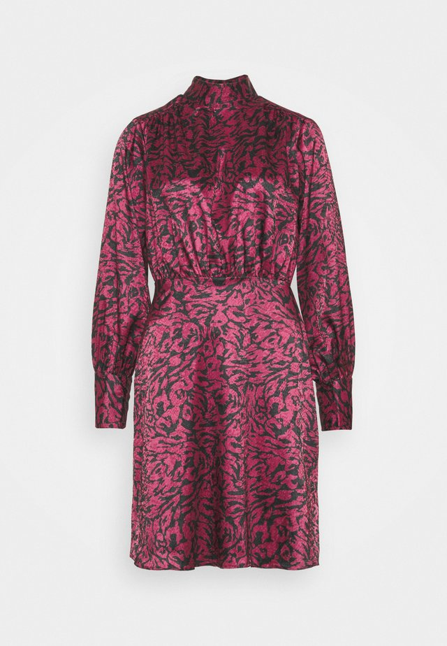 CLOSET BOW DRESS - Day dress - maroon