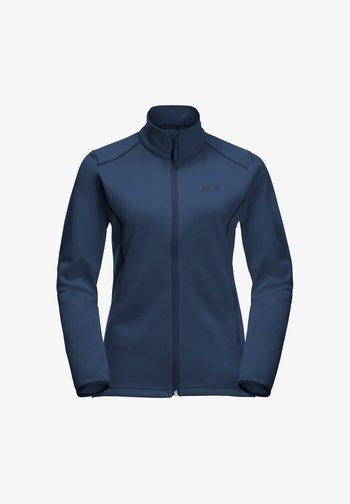 HORIZON - Fleece jacket - dark indigo