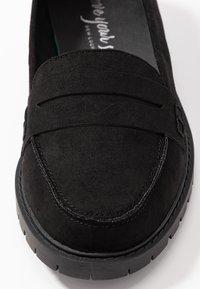New Look Wide Fit - WIDE FIT JUNKER - Slip-ons - black - 2