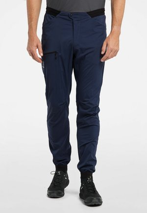 Trousers - tarn blue