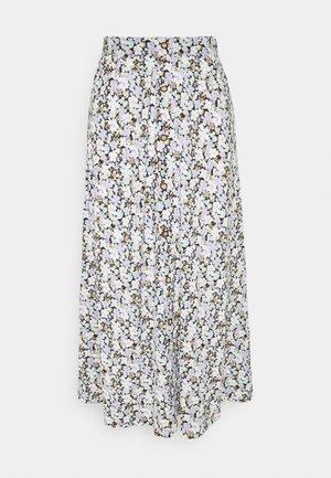ONLPELLA SKIRT - Maxi skirt - black/pastel