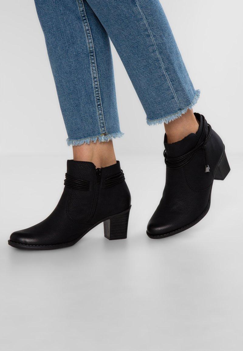 Rieker - Boots à talons - schwarz