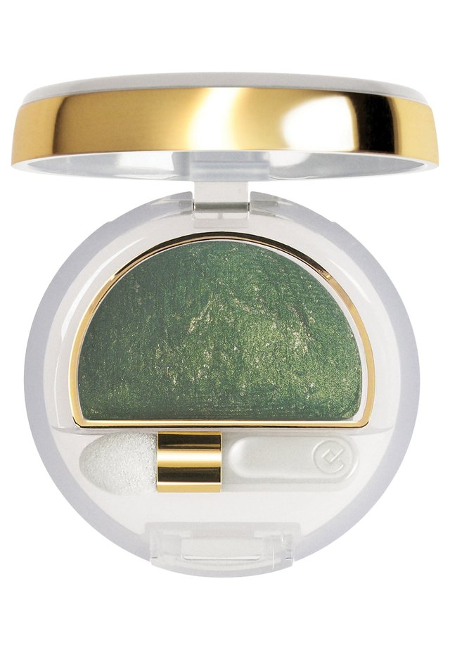 DOUBLE EFFECT EYESHADOW WET&DRY - Oogschaduw - n.10 golden green